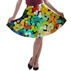 Chrysler11 A-line Skater Skirt