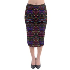 Bubble Up Midi Pencil Skirt