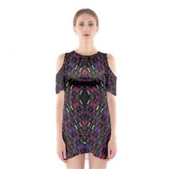 GATEWAY ANCIENT Cutout Shoulder Dress