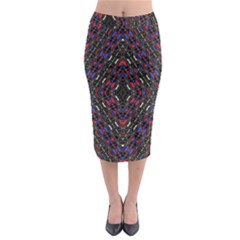 Gateway Ancient Midi Pencil Skirt