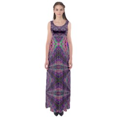 LEARN TRUTH Empire Waist Maxi Dress