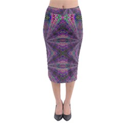 Learn Truth Midi Pencil Skirt