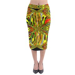 Flair Midi Pencil Skirt
