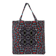 Sea Red Grocery Tote Bag