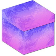Ombre Purple Pink Storage Stool 12