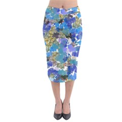 Mixed Brushes                                                             Midi Pencil Skirt