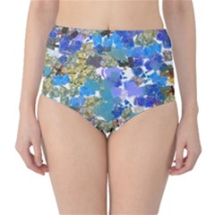 Mixed brushes                                                           High-Waist Bikini Bottoms