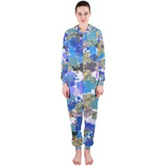 Mixed brushes                                                           Hooded Jumpsuit (Ladies)