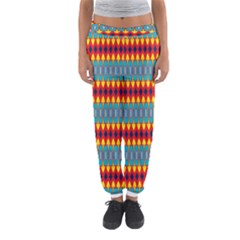 Rhombus and other shapes pattern                                                            Women s Jogger Sweatpants
