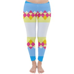 Rhombus and stripes                                                             Winter Leggings