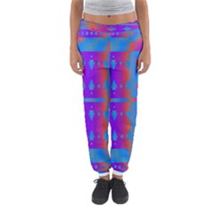 Triangles gradient                                                             Women s Jogger Sweatpants