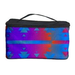 Triangles gradient                                                             Cosmetic Storage Case