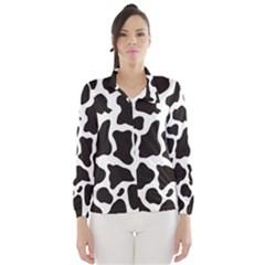 Cow Pattern Wind Breaker (women)