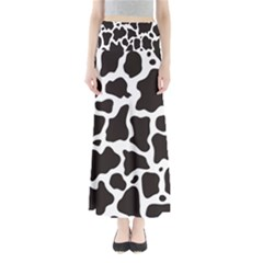 Cow Pattern Maxi Skirts