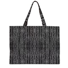 Dark Grunge Texture Large Tote Bag