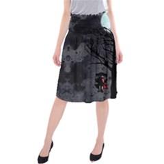 Love Tree Midi Beach Skirt