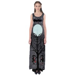 Love Tree Empire Waist Maxi Dress