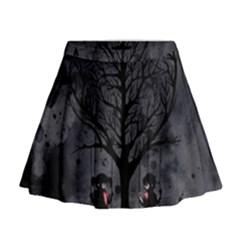 Love Tree Mini Flare Skirt