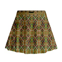 Roulette Board Mini Flare Skirt