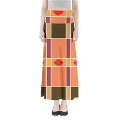 Shapes And Stripes                   Women s Maxi Skirt