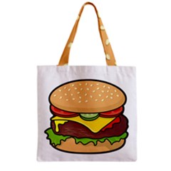 Cheeseburger Grocery Tote Bag