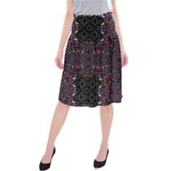 OPEN WINDOW Midi Beach Skirt