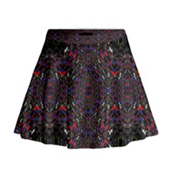 Open Window Mini Flare Skirt