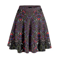 Open Window High Waist Skirt