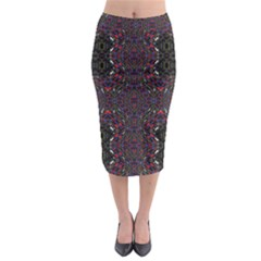 Open Window Midi Pencil Skirt