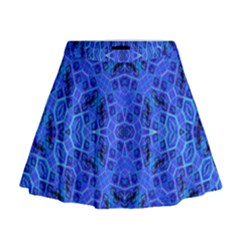 Water On Mini Flare Skirt