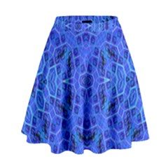 Water On High Waist Skirt