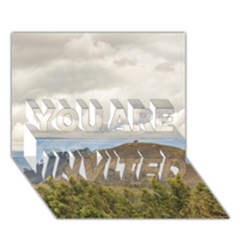 Ecuadorian Landscape At Chimborazo Province YOU ARE INVITED 3D Greeting Card (7x5)