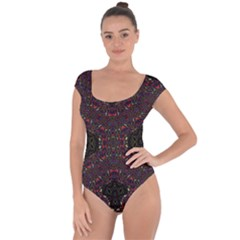 Philosophie Wheel Short Sleeve Leotard (ladies)
