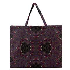 PHILOSOPHIE WHEEL Zipper Large Tote Bag