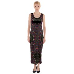 Philosophie Wheel Fitted Maxi Dress