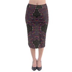 PHILOSOPHIE WHEEL Midi Pencil Skirt