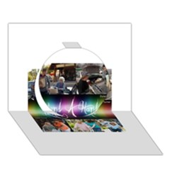 13439220 1341966305818308 1943776824535577747 N Circle 3D Greeting Card (7x5)