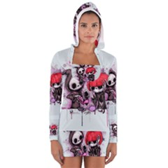 Local Anesthetic Women s Long Sleeve Hooded T-shirt
