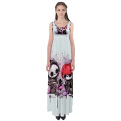 Local Anesthetic Empire Waist Maxi Dress
