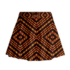 Fire N Flame Mini Flare Skirt
