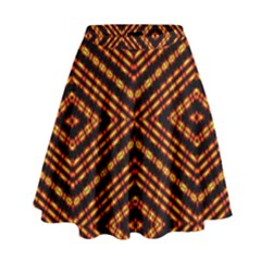 Fire N Flame High Waist Skirt