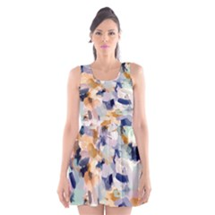 Lee Abstract Scoop Neck Skater Dress