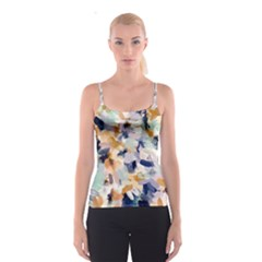 Lee Abstract Spaghetti Strap Top