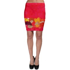 Red2 Bodycon Skirt