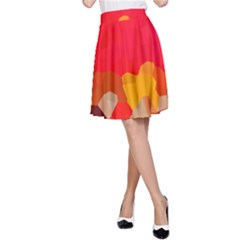 Red2 A-Line Skirt