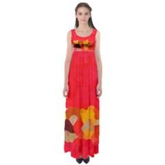Red2 Empire Waist Maxi Dress