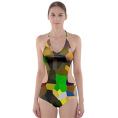 Cola23 1 Cut-Out One Piece Swimsuit