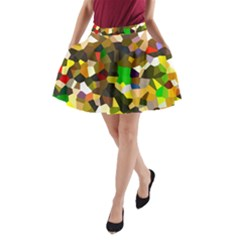 Cola23 1 A Line Pocket Skirt
