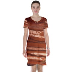Red Earth Natural Short Sleeve Nightdress