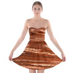 Red Earth Natural Strapless Dresses
